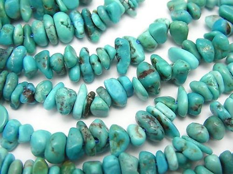 1strand $11.79! Turquoise AA++ Chips (Small Nugget ) 1strand (aprx.15inch/36cm)
