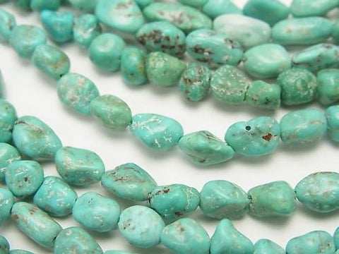 1strand $8.79! Turquoise AA+ Small Size Nugget  1strand (aprx.15inch/38cm)