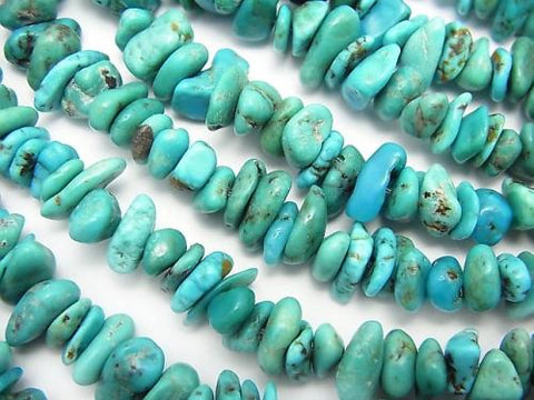 1strand $13.99! Turquoise AA++ Chips (Small Nugget ) 1strand (aprx.15inch/38cm)