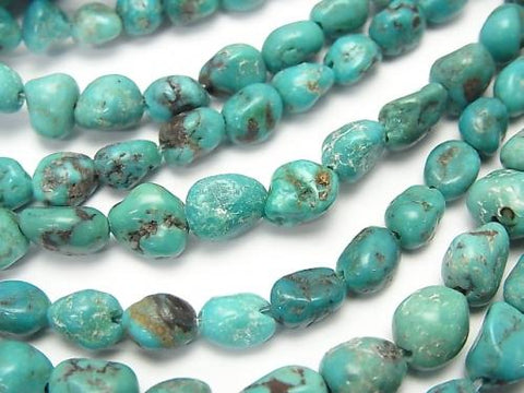 1strand $9.79! Turquoise AA+ Nugget  1strand (aprx.15inch/38cm)