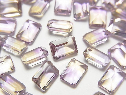 High Quality Ametrine AAA Undrilled Rectangle Faceted 7x5x4mm 3pcs $19.99!