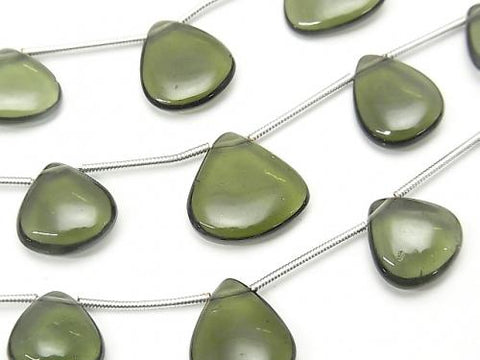 1strand $197.99! High Quality Moldavite AAA Chestnut (Smooth)  1strand (7pcs )