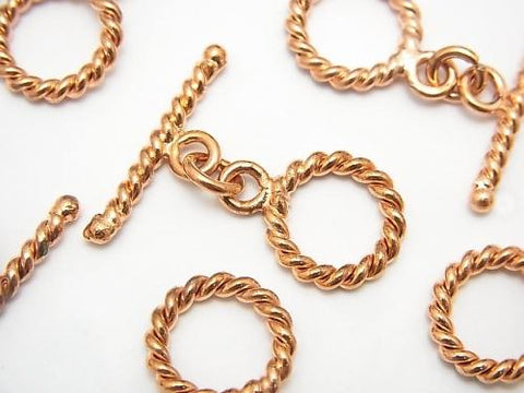 Copper  Toggle  13mm Twist  4pairs $2.99!