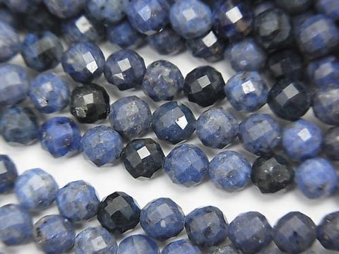 High Quality!  1strand $6.79! Dumortierite  32Faceted Round 4mm 1strand (aprx.15inch/37cm)