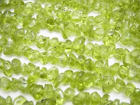 1strand $4.79! Peridot AA+ Chips (Small Nugget ) 1strand (aprx.15inch/38cm)