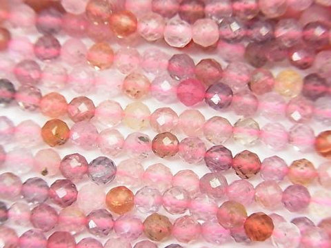 High Quality! High Quality Multicolor Spinal AAA Faceted Round 3mm half or 1strand (aprx.15inch / 38cm)