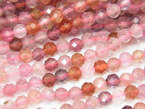 High Quality! High Quality Multicolor Spinal AAA Faceted Round 4mm half or 1strand (aprx.15inch / 38cm)