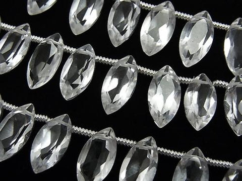 1strand $15.99! High Quality Crystal AAA Marquise Faceted 12x6x4mm 1strand (18pcs)