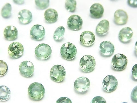 High Quality Green Kyanite AAA Undrilled Round Faceted 4x4mm 10pcs $12.99!