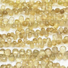 High Quality Beer Crystal Quartz AAA- Drop  Faceted Briolette  half or 1strand (aprx.8inch/20cm)