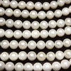 1strand $19.99! Fresh Water Pearl AA Natural Semi Round 10-11mm Off White 1strand (aprx.15inch / 37cm)