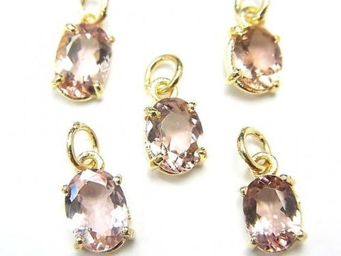 High Quality Pink Tourmaline AAA Bezel Setting Oval Faceted 8x6mm 2pcs $26.99!