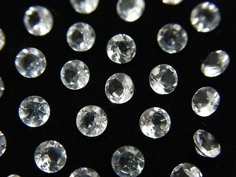 High Quality Crystal AAA Undrilled Round Faceted 4x4mm 10pcs $2.79!