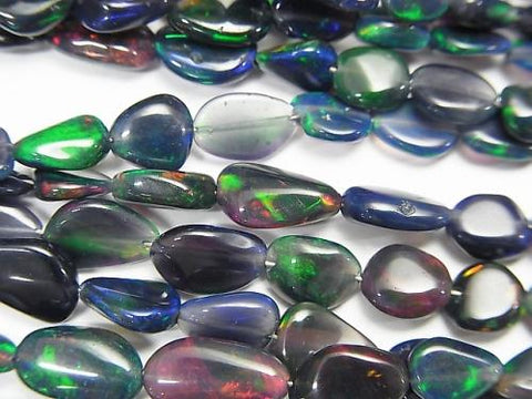 1strand $29.99! High Quality Ethiopian Black Opal AAA- Nugget 1strand (aprx.15inch / 38cm)