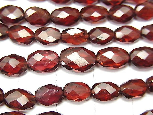 1strand $29.99! High Quality Garnet AAA- Faceted Oval  1strand (aprx.16inch/40cm)