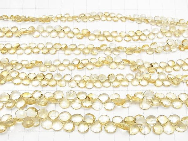 1strand $9.79High Quality Citrine AAA Chestnut  Faceted Briolette  1strand (aprx.6inch/16cm)