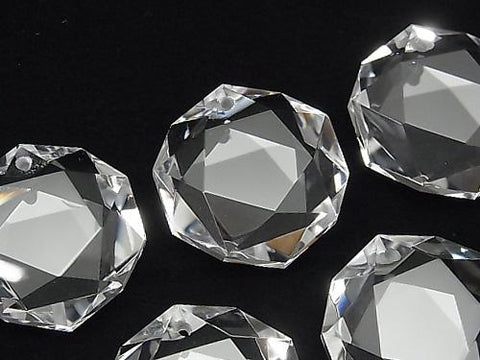 High Quality!  Crystal Quartz AAA Five-Pointed Star 25x24mm 1pc