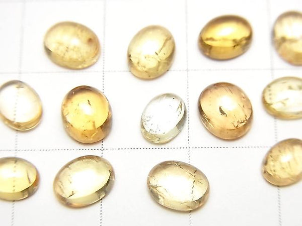 High Quality Imperial Topaz AAA- Oval Cabochon 6-6.5x5mm 4pcs $14.99!