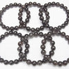 1strand $59.99! Black Brown Rutilated Quartz AAA- Round 10mm 1strand (Bracelet)