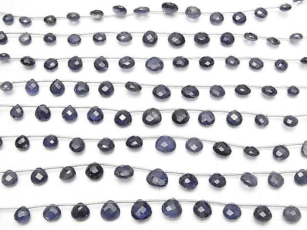 1strand $29.99! High Quality Iolite AAA- Chestnut  Faceted Briolette  1strand (13pcs )