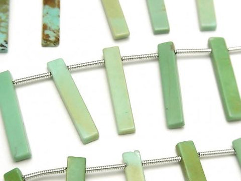 Kingman Turquoise AA Rectangle half or 1strand (aprx.6inch/16cm)
