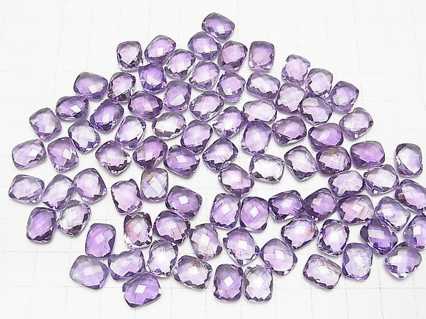 High Quality Amethyst AAA Undrilled Rectangle Cushion Cut 10x8mm 4pcs $7.79!