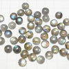 High Quality Labradorite AAA Round  Cabochon 8x8mm 4pcs $7.79!
