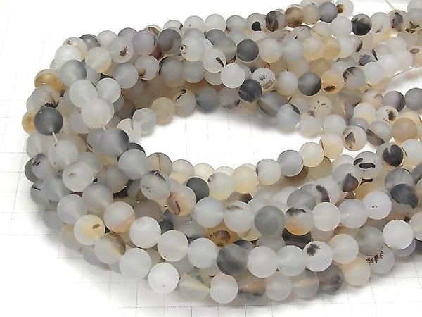 1strand $8.79! Frost Montana Moss Agate Round 10mm 1strand (aprx.15inch/36cm)