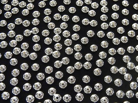 Silver925  Roundel  3.3mm 20pcs $3.79!