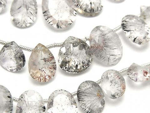 1strand $59.99! High Quality Elestial Quartz AA++ Mixed Shape Faceted 1strand (20pcs ).
