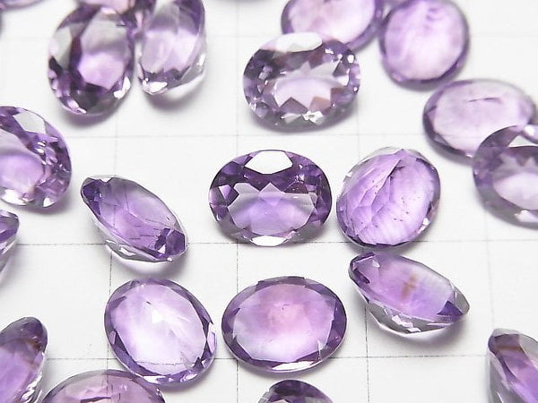 High Quality Amethyst AAA Undrilled Oval Faceted 10x8mm 5pcs $6.79!