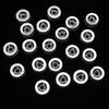 Metal Parts Roundel 8x8x3.5mm Silver with CZ 2pcs $3.79!