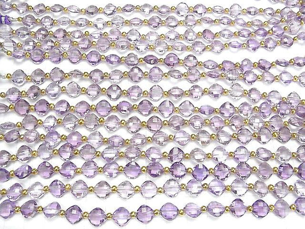 [Video] High Quality Pink Amethyst AAA Diamond Shape (Cushion Cut) 9x9mm half or 1strand (18pcs)