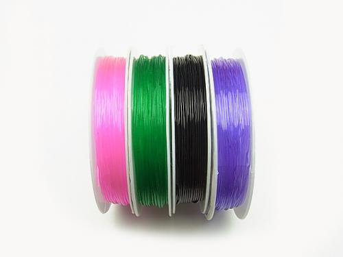 Elastic Stretchy  Strings  1pc (Approx 6M)$0.99 - wholesale gemstone beads, gemstones - kenkengems.com