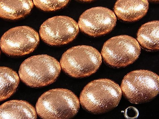 1strand $8.79! Copper  Oval 16x14x6mm 1strand (aprx.7inch/18cm)