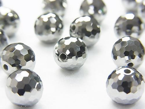 Germanium  128Faceted Round 6mm,8mm 1pc $16.99