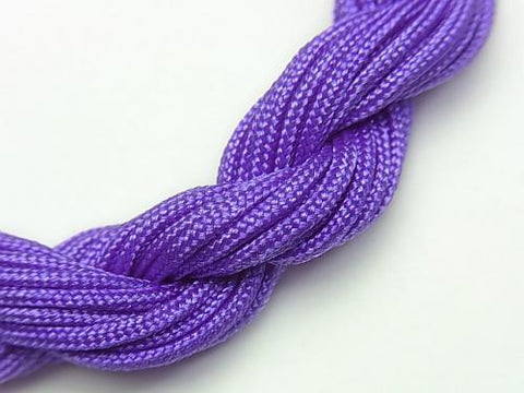 1rool $1.99! Nylon cord purple [1.0mm] [1.2mm] [1.5mm] 1rool