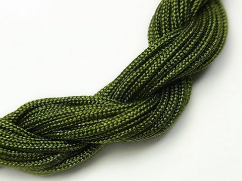 1rool $1.99! Nylon cord green [1.0 mm] [1.2 mm] [1.5 mm] 1 roll