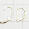 14KGF Pierced French Hook (Changerable) 16 x 10 mm 1 pair $6.79