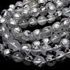 Silver! Turtle (Four Divine Beasts) Carving! Crystal AAA Round 10, 12, 14, 16 mm half or 1 strand