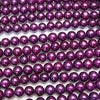 1strand $9.79! Fresh Water Pearl AA ++ Potato 7mm Metallic Purple 1strand (aprx.15inch / 37cm)