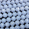 Blue Lace Agate AAA Round 12mm 1/4 or 1strand (aprx.15inch/36cm)