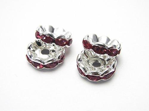 Asfor Roundel [Rose x Silver] flower shape 4-10 mm 100 pcs $9.79