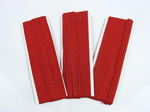 1m $1.79 Italian Twist Cord [1.5mm] [2mm] [3mm] Red