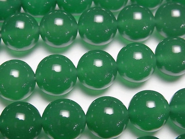 1strand $7.79! Green Onyx AAA Round 10mm 1strand (aprx.15inch / 36cm)