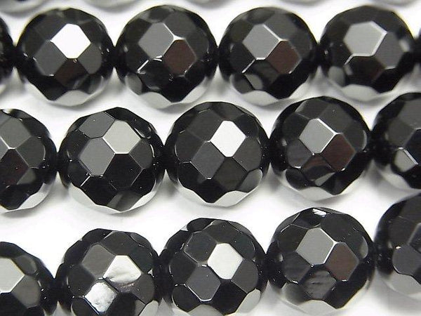 Sale!  Onyx  32Faceted Round 12mm half or 1strand (aprx.15inch/36cm)