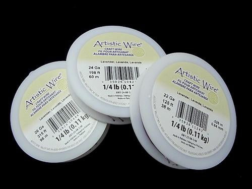 Artistic Wire Lavender (Metallic Type) for Business Use Volume 1roll $9.79- !