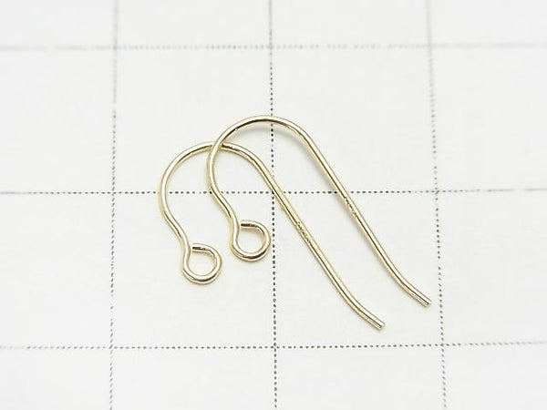 [K14 Yellow Gold] Earwire 1pair