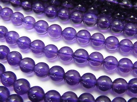 1strand $14.99! High Quality Amethyst AAA Round 4mm 1strand (aprx.15inch / 38cm)