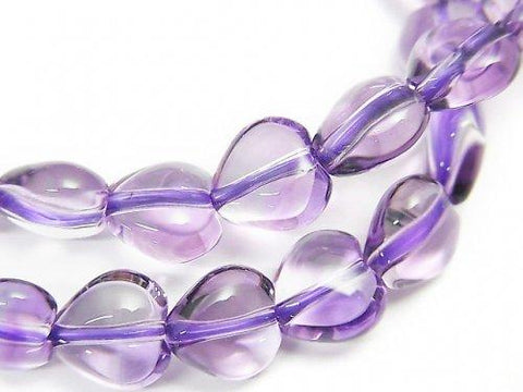 1strand $69.99! High Quality Amethyst AAA Heart Shape 8x8x5mm 1strand (Bracelet)